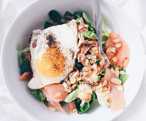 almond, egg, and tasty image
