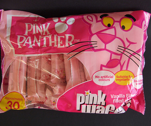 food and pink panther image