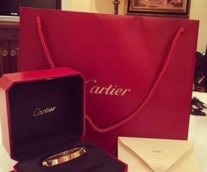 bracelet, cartier, and classy image