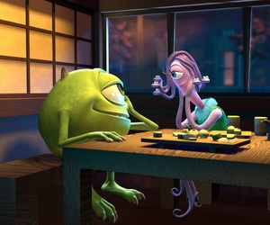 love, monsters inc, and disney image