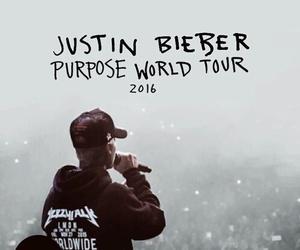 justin bieber, purpose, and tour image
