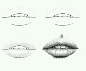 lips, art, and arte image