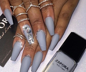 nails, rings, and jewelry image