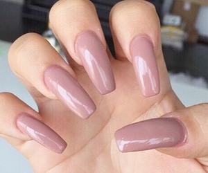 cosmetics, nails, and pink image