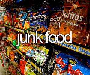 chips, junk, and love image
