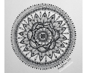 mandala, art, and beautiful image