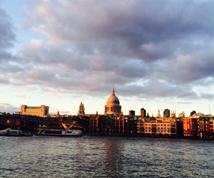 london, thames, and river image