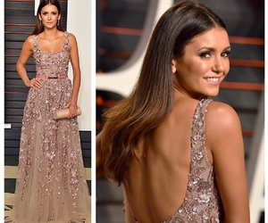 Nina Dobrev and dress image