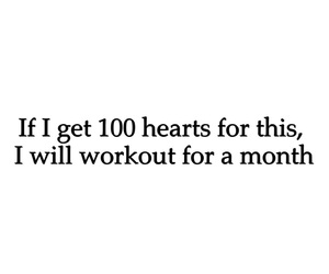 hearts, quotes, and workout image