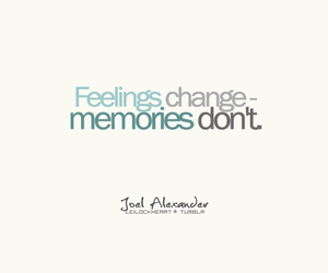 memories, text, and feelings image