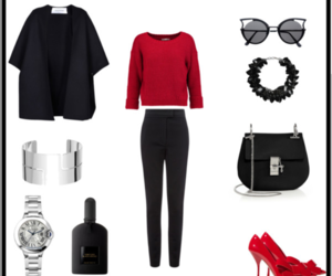 fashion style red image