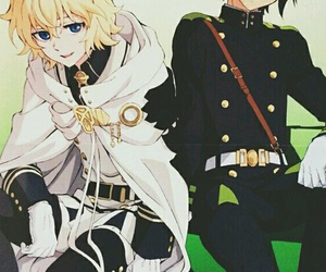 owari no seraph, anime girl cute, and mikayuu image