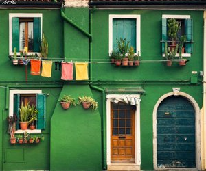 green, house, and home image