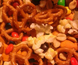 food, trail mix, and snacks image