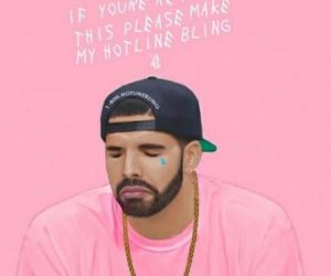 Drake, drizzy, and hotline bling image