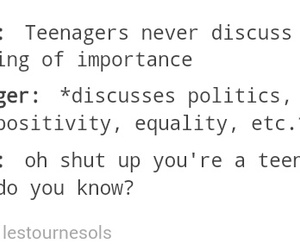 Adult, teen, and true image