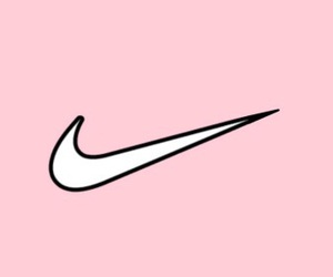 background, nike, and pink image