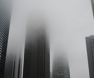 city and fog image