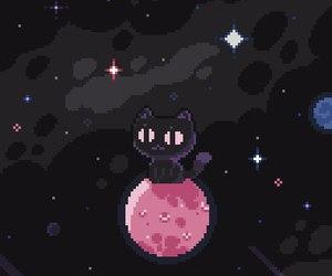 pastel, pink, and pixel image