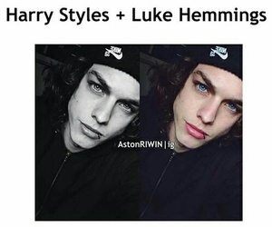 one direction, 5sos, and Harry Styles image