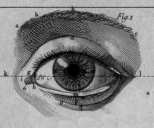 eye, art, and draw image