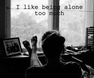 alone, forever, and girl image