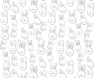 wallpaper, bunny, and rabbit image