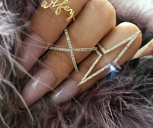 hand, jewellery, and nails image