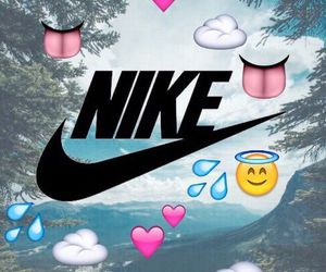 nike, wallpaper, and emoji image