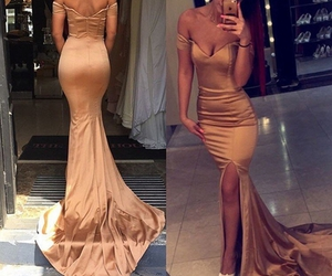 dress, dresses, and evening dress image