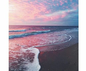 beach, sky, and beautiful image