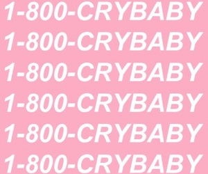 crybaby, pink, and wallpaper image