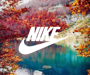 background, nike, and fall image