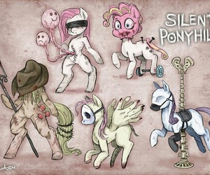 creepy, horror, and MLP image
