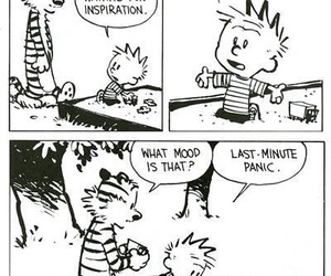 funny, comic, and calvin image