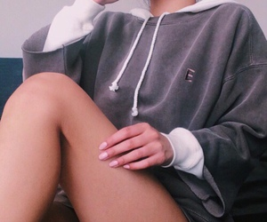 clothes, fashion, and hoodie image