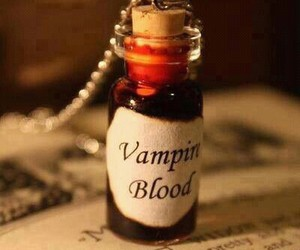 vampire, blood, and vampire blood image