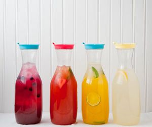 color, drinks, and food image