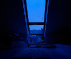 blue, aesthetic, and grunge image