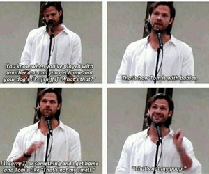 supernatural, funny, and jared padalecki image
