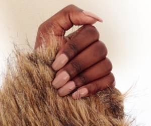 beautiful, nails, and nude colors image