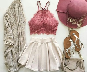 fashion, spring, and cute image