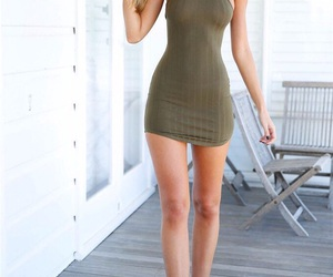 dress and legs image