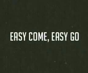 quote, Easy, and go image