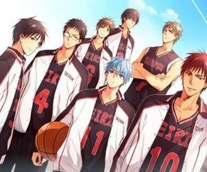anime, kuroko no basket, and seirin image