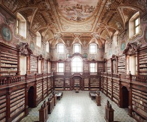book, library, and Naples image