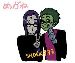 teen titans, bbrae, and shock777 image