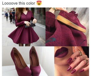 fashion and maroon image