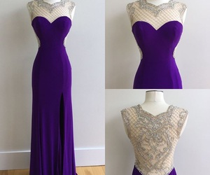 beautiful, dress, and prom dress image