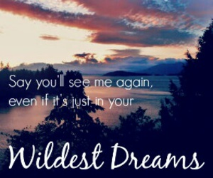 Taylor Swift, wildest dreams, and Lyrics image
